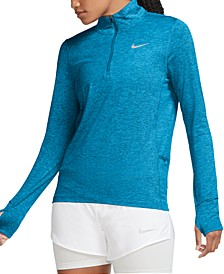 Women's Element Dri-FIT Half-Zip Running Top
