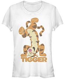 Women's Winnie the Pooh Tigger Bounce Short Sleeve T-shirt