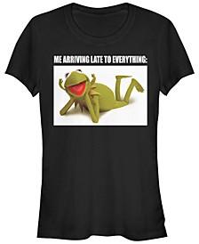 Women's Muppets Late Kermit Short Sleeve T-shirt
