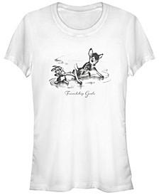 Women's Bambi Friendship Short Sleeve T-shirt