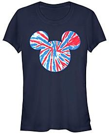 Women's Disney Mickey Classic Tie Dye Americana Short Sleeve T-shirt