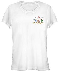Women's Duck Tales Duck Triplet Pocket Short Sleeve T-shirt