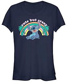 Women's Disney Lilo Stitch Kawaii Stitch Short Sleeve T-shirt