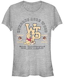 Women's Winnie the Pooh Collegiate Short Sleeve T-shirt