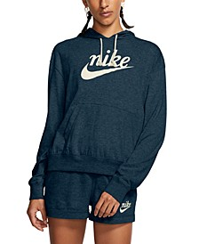 Women's Sportswear Gym Vintage Logo Hoodie