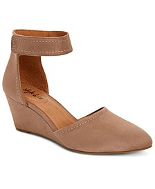 Yarah Two-Piece Wedge Pumps, Created for Macy's