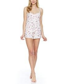 Flora by Flora Nikrooz Aubree Cami & Shorts Pajama Set