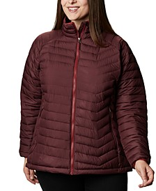 Plus Size Powder Lite Quilted Puffer Jacket