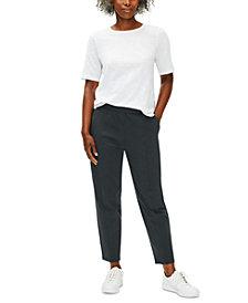 Eileen Fisher Organic Pull-On Pants, Regular & Petite