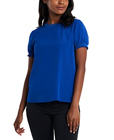 Jenna Smocked-Cuff Top, Created for Macy's