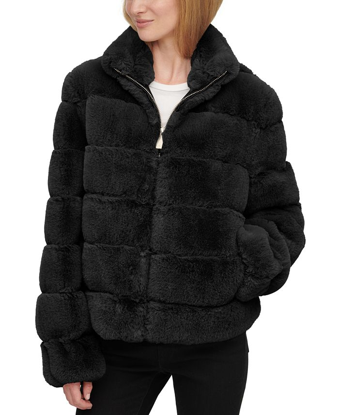 Calvin Klein - Faux-Fur Coat