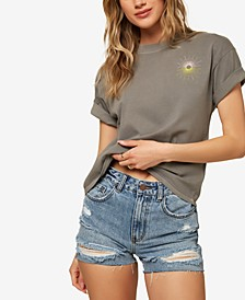 Juniors' Sundown Cotton T-Shirt