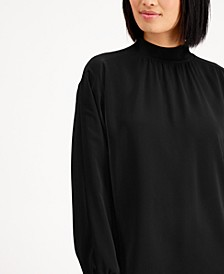 Mock-Neck Long Sleeve Top, Created for Macy's