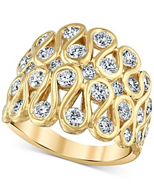 Diamond Loop Statement Ring (1-3/4 ct. t.w.) in 14k Gold