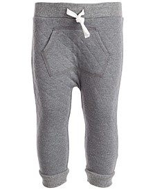 Baby Boys Herringbone Quilted Jogger, Created for Macy's