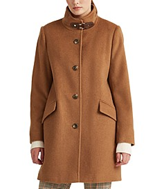 Wool-Blend Coat, Created For Macy's