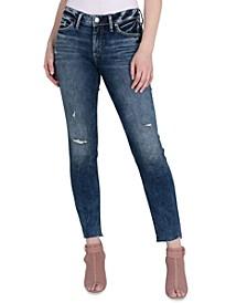 Suki Mid-Rise Straight-Leg Jeans