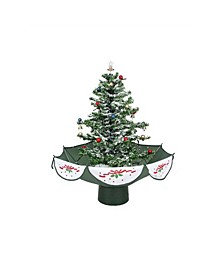Pre-Lit Musical Snowing Artificial Christmas Tree