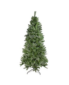 Unlit Medium Mixed Cashmere Pine Artificial Christmas Tree