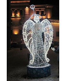 Pre-Lit Trumpeting Angel Commercial Christmas Outdoor Decoration