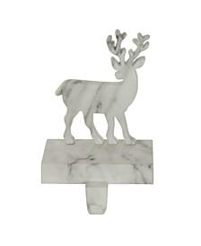 Marbled Standing Deer Christmas Stocking Holder