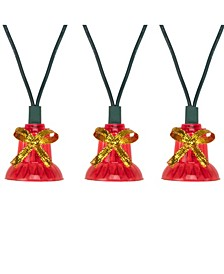 Bells with Musical Christmas Light