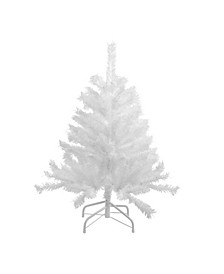 Unlit Icy Spruce Artificial Christmas Tree