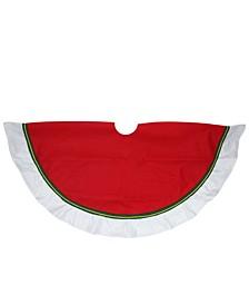 Contemporary Christmas Tree Skirt