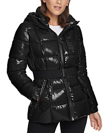 Shine Hooded Puffer Coat