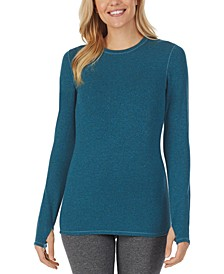 Ultra Cozy Long-Sleeve Crewneck Top