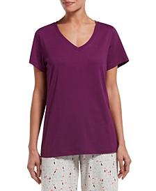 V-Neck Sleep T-Shirt
