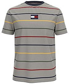 Tommy Hilfiger Men's Bradley Stripe Logo Graphic T-Shirt
