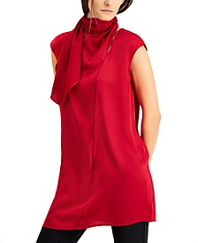 Scarf-Neck Tunic, Created for Macy's
