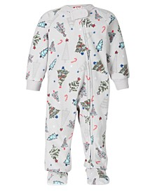 Matching Baby Festive Trees Onesie Created for Macy's