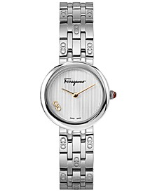 Women's Swiss Forever Stainless Steel Bracelet Watch 28mm