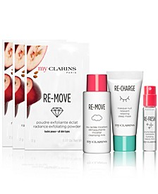 Receive a FREE 6pc Gift with any $35  My Clarins Purchase
