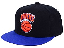 Mitchell & Ness New York Knicks 2 Tone Classic Snapback Cap