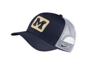 Nike Michigan Wolverines Patch Trucker Cap