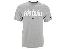 Las Vegas Raiders Men's Dri-Fit Cotton Football All T-Shirt