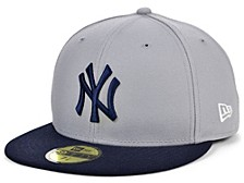 New York Yankees Plate Patch 59FIFTY FITTED Cap