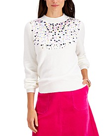 Sequined Sweater, Created for Macy's