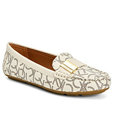 Calvin Klein Women's Lisa Monogram Loafers
