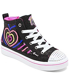 Little Girls Flip Kicks Twi-Lights 2.0 Heartbeatz Casual Sneakers from Finish Line