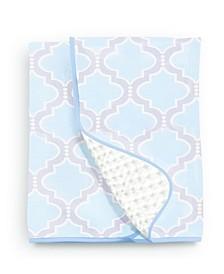 Medallion Chenille Dot Baby Blanket