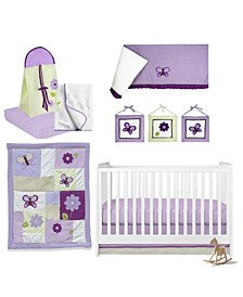 Butterflies Crib Bedding Set