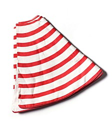 by Laura Johnson Stripe Tree Skirt