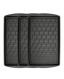 Set of 3 Non-Stick Metal Baking Sheet
