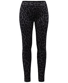 Animal-Print Pull-On Leggings, Created for Macy's
