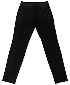Plus Size Seam-Front Ponte-Knit Leggings, Created for Macy's