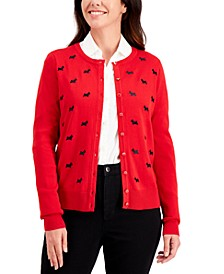 Scottie Button Sweater, Regular & Petite Sizes, Created for Macy's